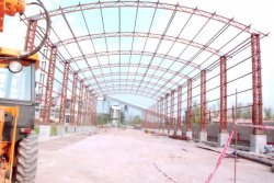 Aradhya Projects steel structure, heavy steel structure, industrial steel structure, commercial steel structure, warehouse steel structure, storage steel   structure, factory steel structure, steel structure service i